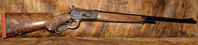 Haslett's M71 Lever Action in 348 WCF