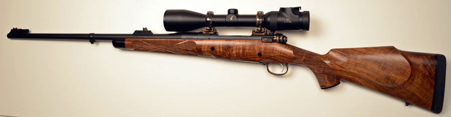 Kilimanjaro African Hunter Rifle In 375 H H Featuring An