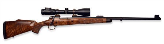 Kilimanjaro African Hunter Rifle in 375 HH