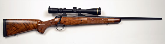Kilimanjaro Tigercat Custom Rifle 243 Win.