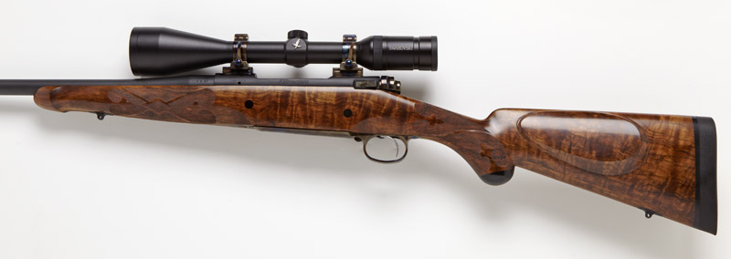 The Kilimanjaro Custom Bolt Action Hunting Rifle