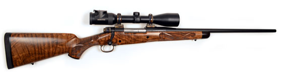 custom rifle Leppert African Rifle In 300 Win. Mag.
