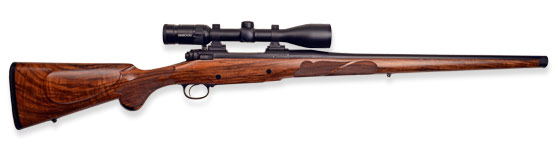 Thompson Tigercat Mannlicher Rifle (Left Hand) In 260 Rem