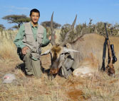 Kilimanjaro custom rifles safari hunting