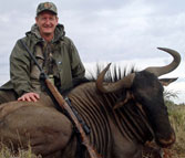 Kilimanjaro Founder Erik Eike and Trophy of Blue Wildebeest
