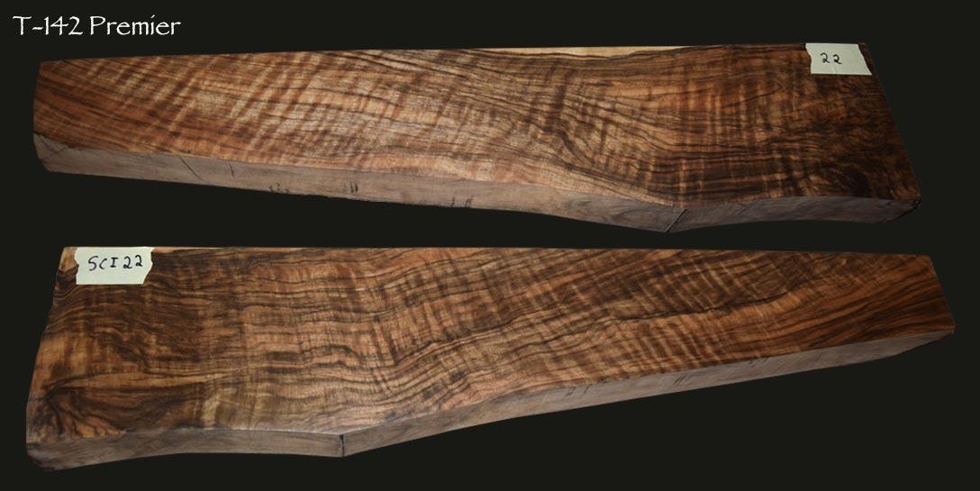 T 142 Custom Wood Stock Blanks