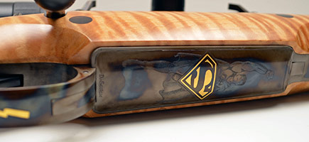 "12-403 Doctari 460 Weatherby ""Superman"" Rifle"