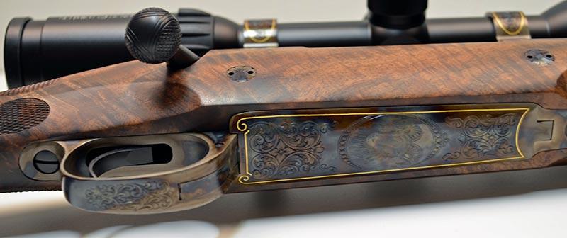 Custom Rifle Engraving