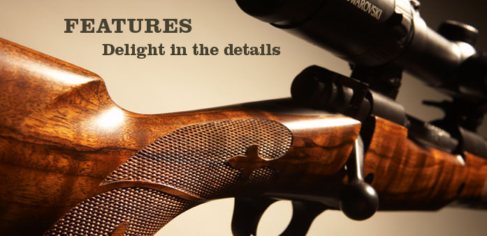 Custom hunting rifles