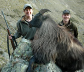 Diana Rupp with Tahr