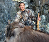 William Eike Takes Bull Tahr