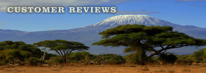 Customer Reviews – Kilimanjaro Custom Hunting Rifles